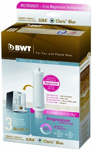 BWT Gourmet Edition filtr wody do ekspresów do kawy Jura C/XF/J ENA, 3 sztuki, biały, 3 sztuki