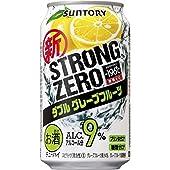 サントリーチューハイ -196℃ ストロングゼロ《ダブルグレープフルーツ》 350ml×24缶(1ケース)
