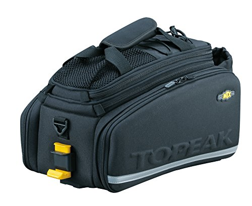 TOPEAK MTX Trunk Bag Dxp with Rigid Molded Panels Alforja, Sin género, Black, Talla Única