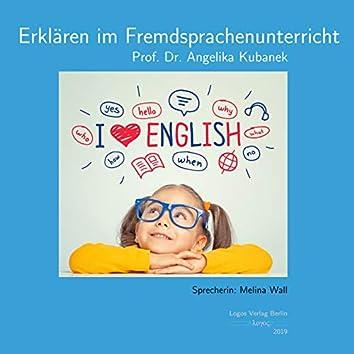 Erklären im Fremdsprachenunterricht