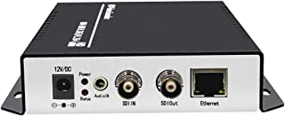 ISEEVY H.265 H.264 SDI Video Encoder 1080P IPTV Encoder for IPTV, Live Stream, Broadcast Support RTMP RTSP UDP HTTP FLV HLS TS Protocols and Facebook YouTube Ustream Wowza Platforms