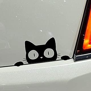 CFHJN HOME Mirando a escondidas el gato Animal Estilo del coche Pegatinas decorativas Calcomanías para automóviles en la ventana para Ford Mercedes-Benz BMW Volkswagen Passat Audi Diesel Convertible ?