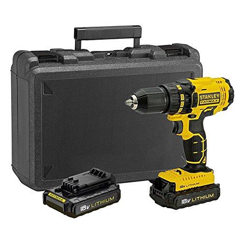 Stanley FatMax - FMC601C2K-QW Drill Driver 18V 1.3Ah. Case.