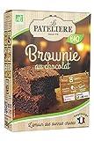 LA PATELIERE Préparation Bio pour Brownie au Chocolat 280 g