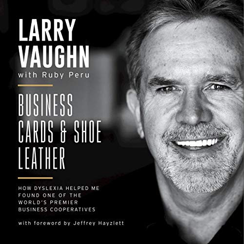 Business Cards and Shoe Leather audiobook cover art