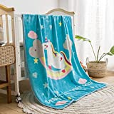 It can keep your kids warm Easy to carry, it can satisfy different occasion like bed, sofa car, kindergarten. Suitable for all seasons, Summer can be used as thin quilt, air conditioning quilt, winter can also be used as sheet comfortable, soft and c...