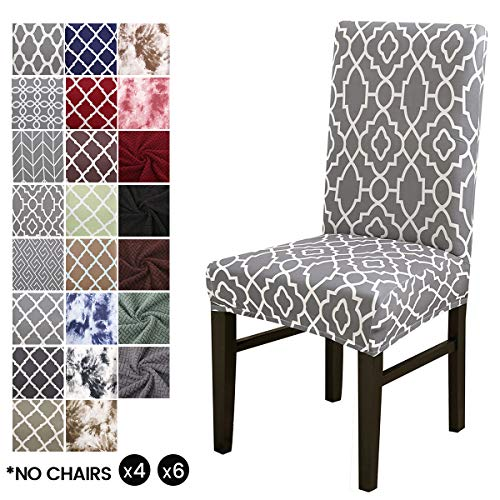 LiveGo stoelhoes, stretchstoelhoezen met hoge rugleuning beschermhoes Slipcover, elastische stoelbeschermer stoelhoezen voor eetkamer, bruiloftsfeestdecoratie