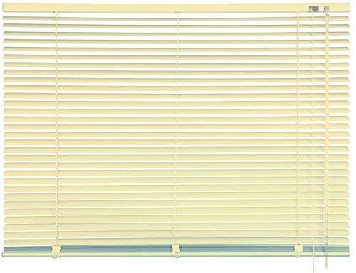 mydeco® 160 x 175 cm Aluminium Jalousie Beige; inkl. Bedienstab, Deckenträger + Befestigungsmaterial Innenjalousie Sonnen- und Sichtschutz; fein regulierbar