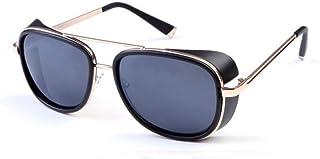 3e6c64d788 LETAM Gafas de sol Gafas de Sol Iron Man Tony Stark Gafas de Sol para  Hombres