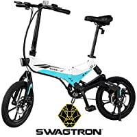Swagtron EB7 Long-Range Folding Electric Bike + $120.00 Kohls Cash