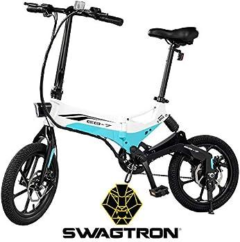Swagtron EB7 Long-Range Folding Electric Bike + $145 Kohls Rewards