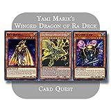 Yu-Gi-Oh! - Yami Marik's Complete The Winged Dragon of Ra Egyptian God Deck