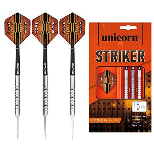 Unicorn Core XL Striker Steel Dart, 80% Tungsten, 21g