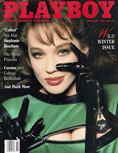 Playboy Magazine - February 1987 - Stephanie Beacham (Single Issue Magazine)