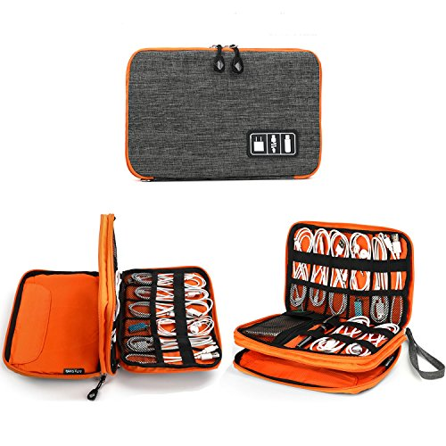 Electronics Organizer, Jelly Comb Electronic Accessories Cable Organizer