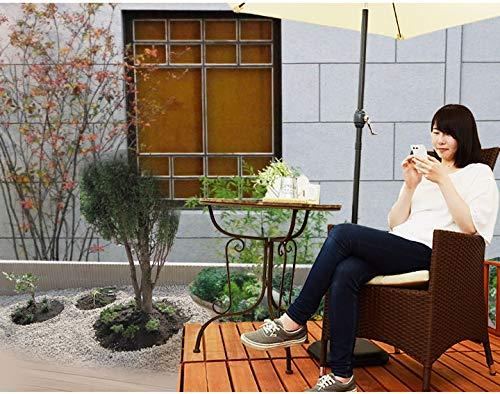 Liebe【リーベ】ラタン調ガーデンチェア『グリス』