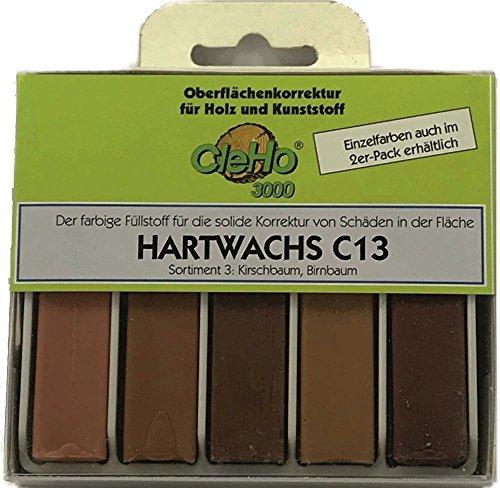 Cleho Hartwachs C13 | Farbe: Kirschbaum, Birnbaum