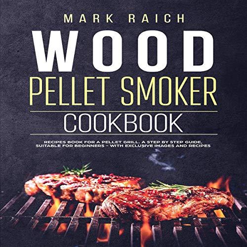 『Wood Pellet Smoker Cookbook』のカバーアート