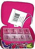 Vera Bradley 7 Day Travel Pill Case - Pink Swirls - NWT