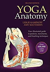 cover of yoga anatomy book