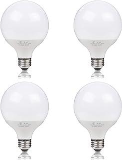 Hzfluo LED電球 100w E26 ledボール球 昼光色 G95 広配光タイプ ホワイト 外径95mm 一般電球 led照明 LEDライト 長寿命 省エネ (昼光色 4個入り)