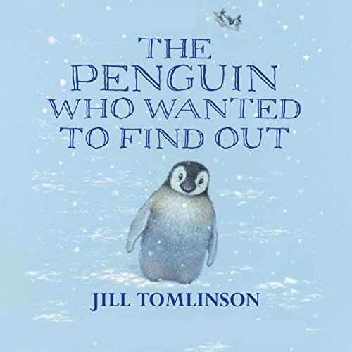 The Penguin Who Wanted to Find Out audiobook cover art