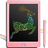 JOEAIS Tablette d'écriture LCD Coloré 8.5 Pouces d'écriture électronique Planche à Dessin numérique Tablette Graphique de Dessin Convenant aux Enfants, à la Maison, à l'école et au Bureau (Rose)
