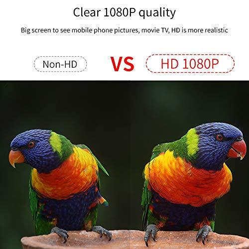KKmoon 1080P HD Wireless Screen Player Dongle - 6