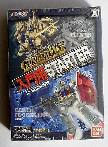 Bandai Gundam War Einfürungs Starter für Anf er Titans Earth Federation