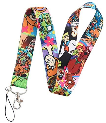 Lanyard ScoobyDoo   Cordón para el Cuello   No Pierdas más tus Llaves   Llavero para Móvil Mascarilla Teléfono y Llaves  Regalo Original