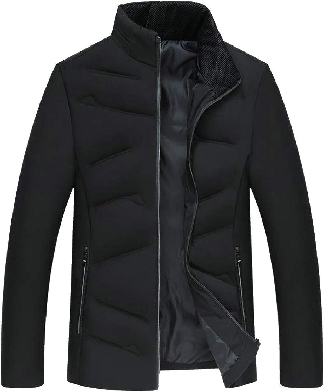 094131fe5 pujingge-CA Men's Warm Padded Slim Slim Slim Fit Thick Winter Stand Collar  Down Jacket Coat 455dff