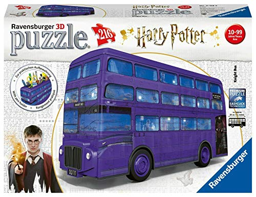 Home Accessory 3D 216 Piece Harry Potter Knight Bus Jigsaw Puzzle