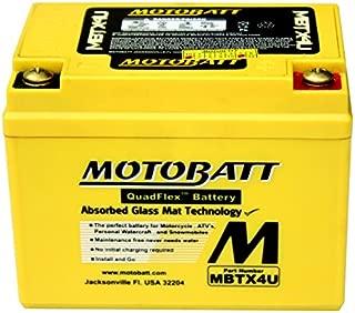 New MotoBatt Battery Fits Honda NSR250R CRF110F CRF125F CRM125R Motorcycles