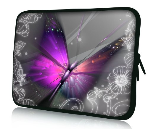 LUXBURG Messenger Bag for 17.3 inch Notebook/Laptop/Tablet - Large Butterfly