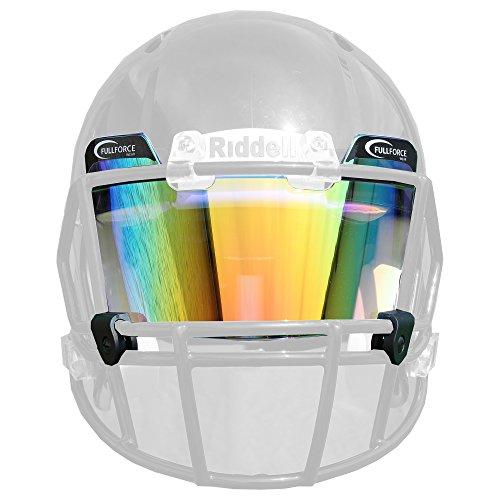 Full Force Helmvisier/Eyeshield Multicolor, farbig getönt, leicht gespiegelt - orange/Multicolor