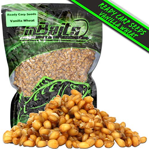 Angel-Berger Magic Baits Ready Carp Seeds 1 Kg Particle Karpfen Köder (Vanilla Wheat)