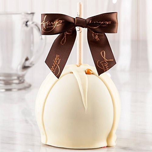 Dunked Caramel Apple w/ White Belgian Chocolate