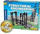 Thames & Kosmos Structural Engineering: Bridges & Skyscrapers | Science & Engineering Kit | Build 20 Models | Learn About Force, Load, Compression, Tension | Parents' Choice Gold Award Winner