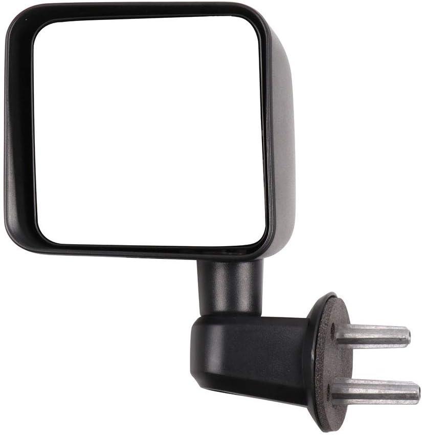 人気急上昇 ECCPP Driver Side Mirror Rear View 買取 Fo Manual Left Mirrors Black