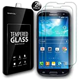 Ganvol (2er SET) Panzerglas Samsung Galaxy S3 / S3 Neo Panzerfolie Hartglas Panzerglasfolie
