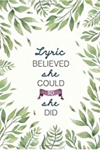 she believed she could so she did lyrics
