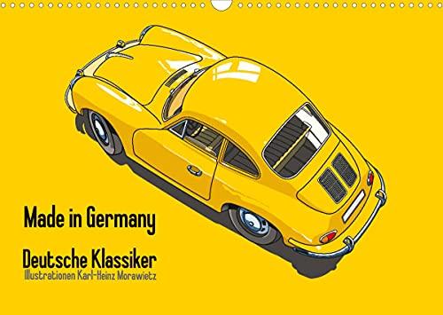 Made in Germany - Illustrazioni di auto classiche tedesche