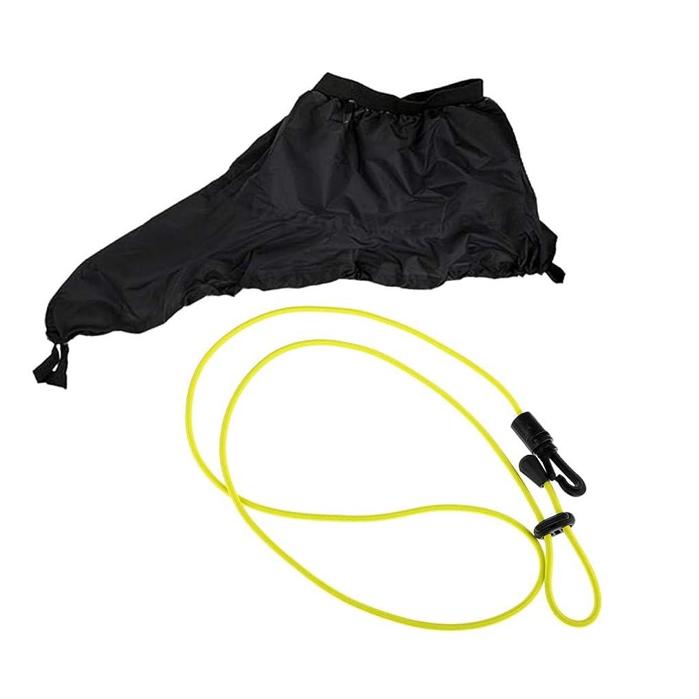 嵐の日帰り旅行に些細なPerfeclan パドルリーシュ デッキカバーコックピットスプレースカート