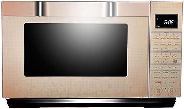 La función de bloqueo |25L Horno Microondas Digital Display 900W, descongelación automática, One-Touch Express Cook, Solo Horno Microondas fácil de limpiar - Acero inoxidable