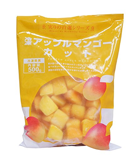 冷凍アップルマンゴーカット 500g 【冷凍】/Wismettac(12袋)