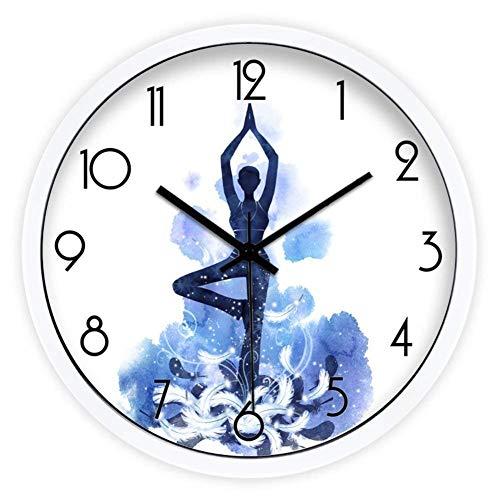 YLCJ Creative Clock Alarmsysteem Agrave, van metaal van de decoratieve persoonlijkheid niet modern Calm Alarm Clock-12