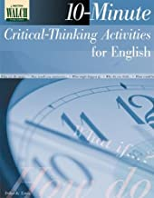 10-Minute Critical Thinking Activities for English: Grades 10-12