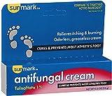 Sunmark Antifungal Cream Tolnaftate - 0.5 oz, Pack of 2