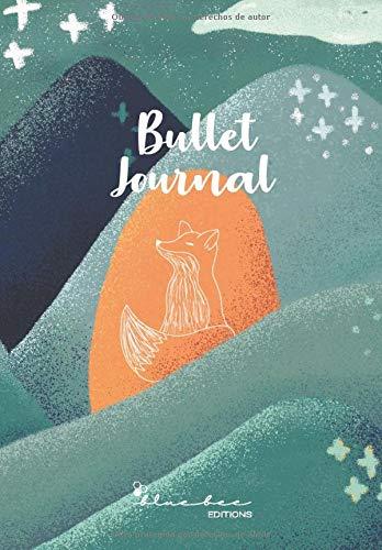 Bullet Journal prepautado (sin fechas): Agenda estilo Bullet Journal sin fechas