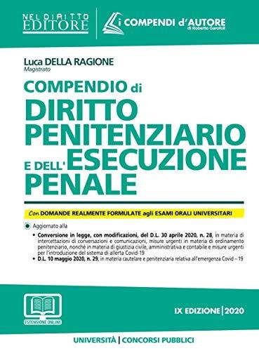 Compendio di esecuzione e diritto penitenziario